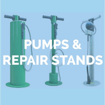 BIKE PUMPS & REPAIR STANDS